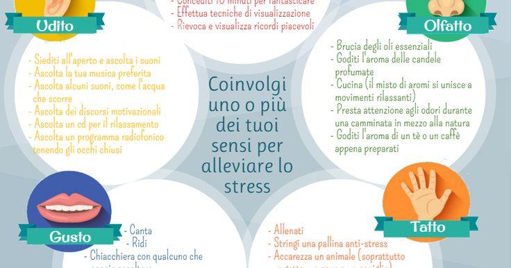 Impegnare i propri sensi nella lotta allo stress