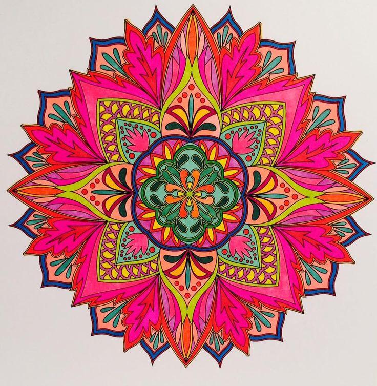ColorIt Mandalas To Color Volume 1 Colorist Jan Long Adultcoloring Coloringforadults
