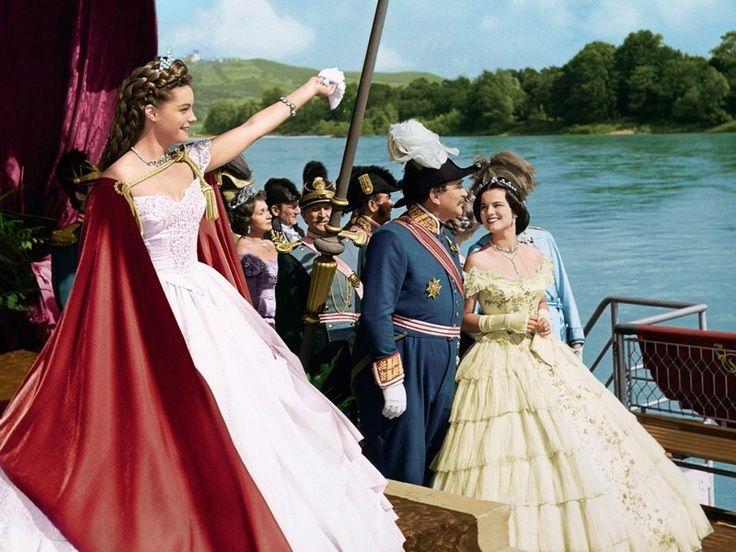 Romy Schneider (Sissi) Gustav Knuth (Duke Max of Bavaria) Uta Franz (Princess Helene / Nene)