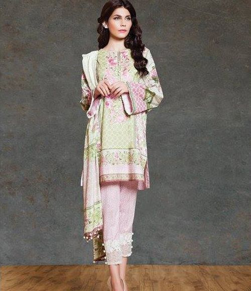 Sapphire Cambric Suits Collection 2015 Vintage Mangolia A