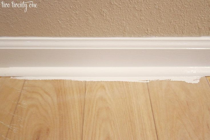 Caulking Painting Baseboards Tips, Laminate Flooring Caulk