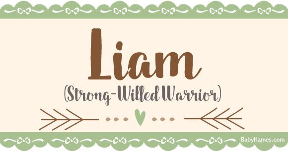 All about the name Liam: Meaning, origin, and popularity of Liam. What does Liam mean? Click for more information about the name Liam and thousands of other baby names.