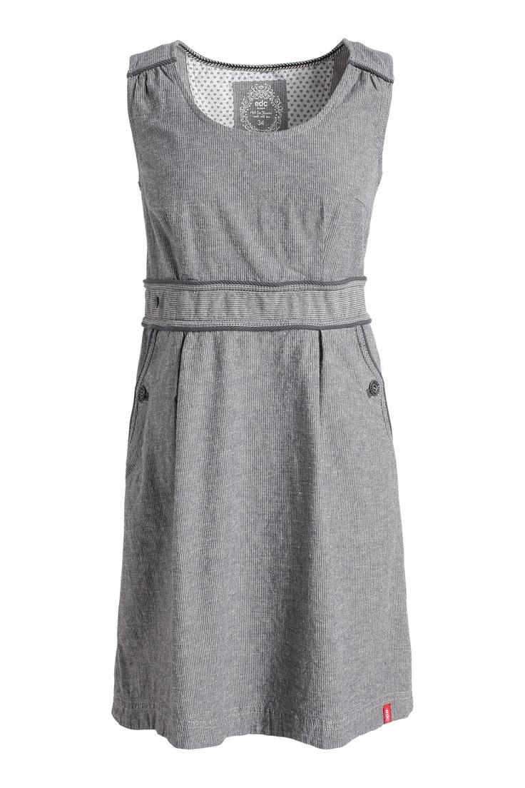 Esprit cotton-linen dress EDC at our Online Shop