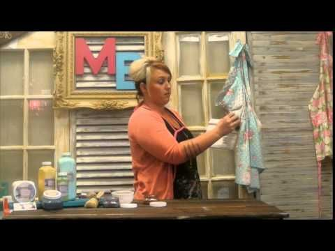 Our Latest Painting Tutorials | Chalky Paint, Sealer, Finishing Wax, Illuminating Powders, Antiquing Glaze - Madame Butterfly Chalky Paint