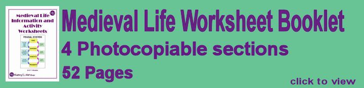 Link to Free Medieval Worksheets