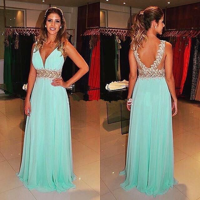 Charming Prom Dress,Backless Prom Dress,Lace Prom Dress,Fashion Prom