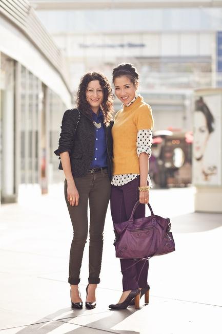 Grape Charm :: Purple jeans