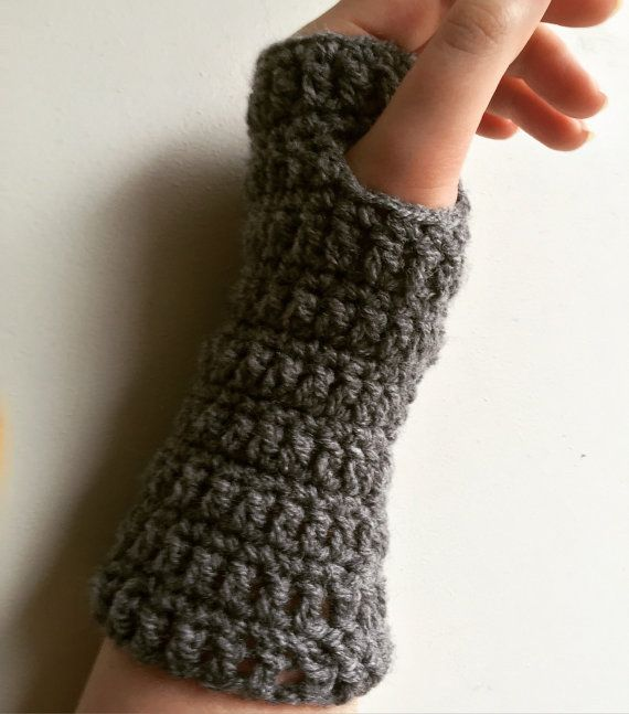 This listing is for a pair of handmade fingerless gloves.  This pair will be especially made for you when you order them, so please make sure