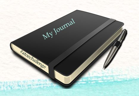 Journal writing in the #atozchallenge 2017