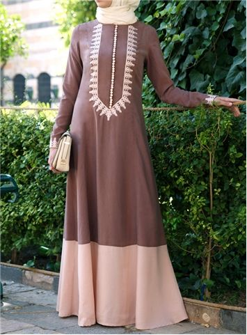 Karama Embroidered Gown