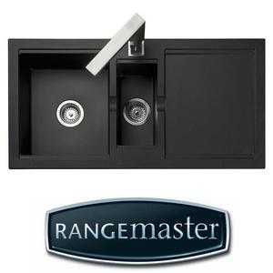 Rangemaster Cubix 1.5 G Black Kitchen Sink CX9852GB Preview