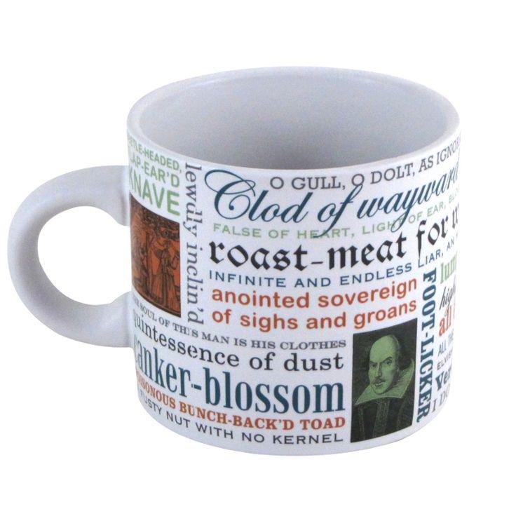 Shakespearean Insults Coffee Mug