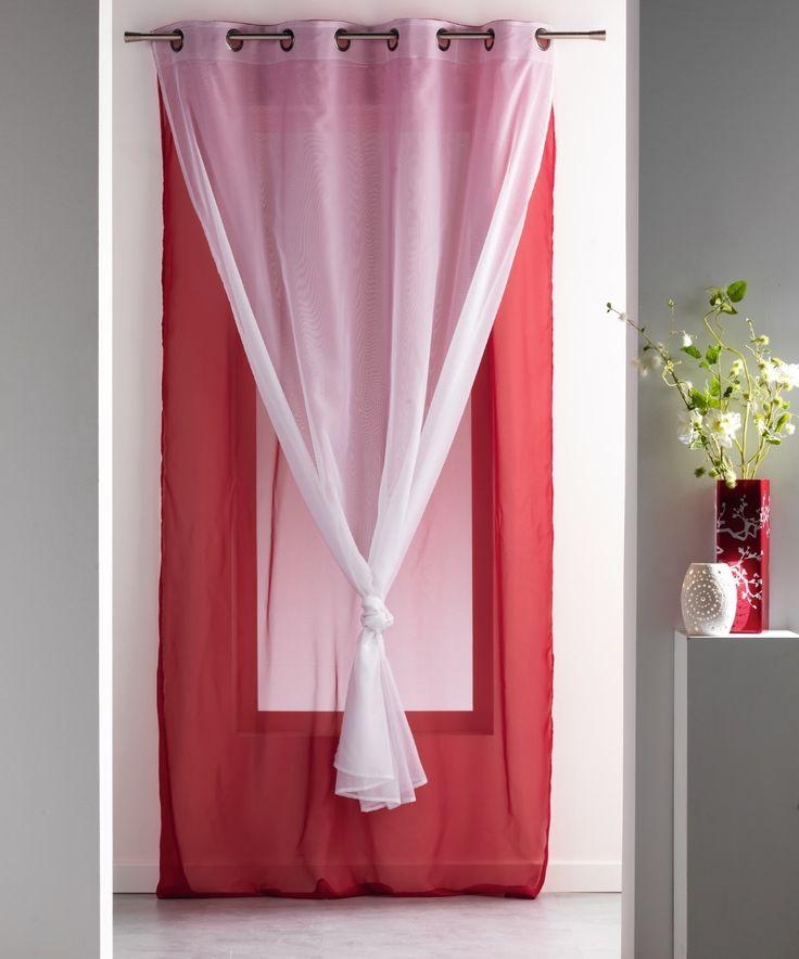 1000 id es sur le th me doubles rideaux sur pinterest tringle pour double rideaux tringles. Black Bedroom Furniture Sets. Home Design Ideas