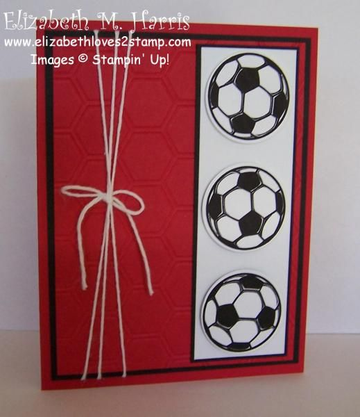 Soccer Birthday by FLMommyof2 - Cards and Paper Crafts at Splitcoaststampers