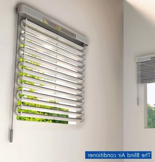 Solar Powered Air Conditioner Window Blinds Led Amp Solar