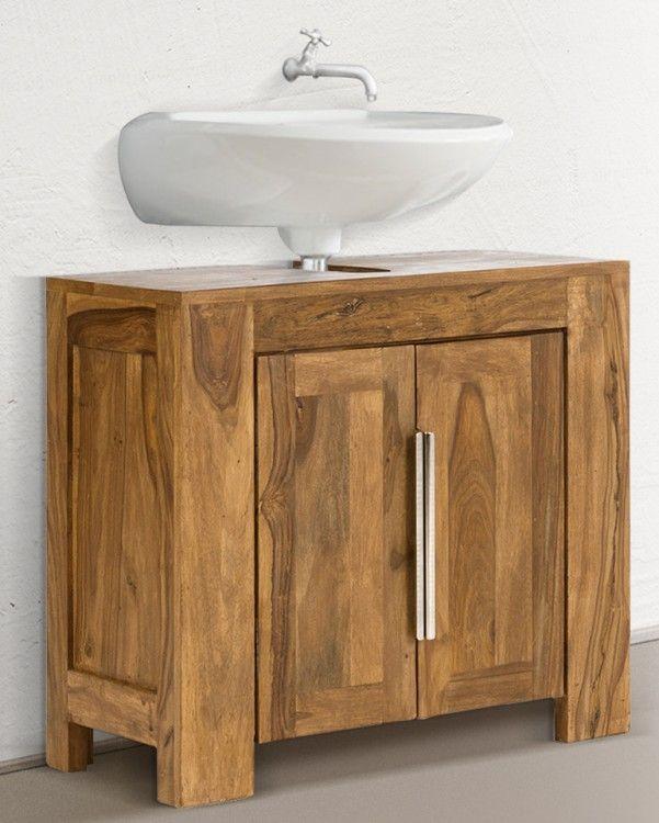 25 best bad unterschrank holz ideas on pinterest. Black Bedroom Furniture Sets. Home Design Ideas