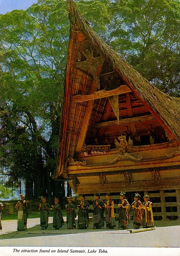 Samosir Island~North Sumatera Typical Batak Home -- BEEN THERE