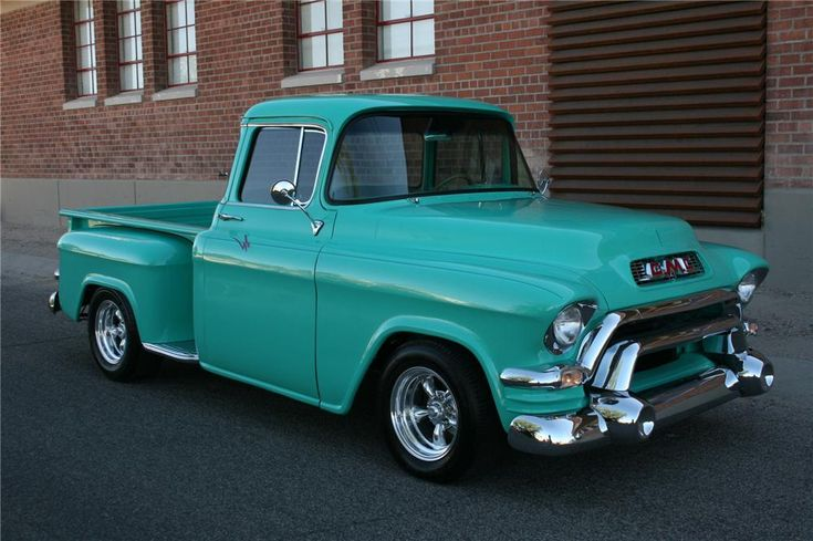 Gmc tucks for sale 1955 gmc lot 376 barrett jackson for 1955 gmc 5 window pickup for sale