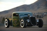 1935 Ford V8 Rat Rod Pickup. Big fan of the chopped roof!