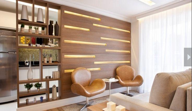 sala estar e divisoria de ambiente