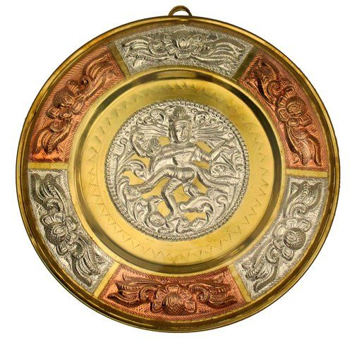 Nataraja Tanjore Art Shield   Chola Impressions - Exquisite Tanjore Paintings, Indian Handicrafts & more