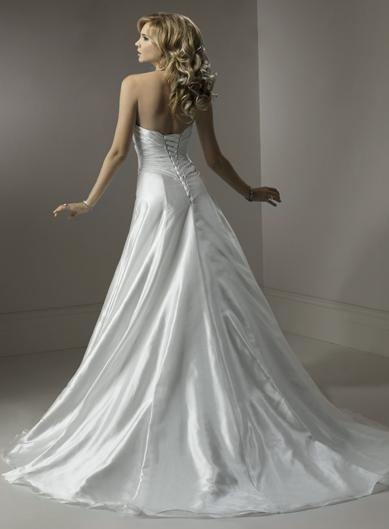 Connie Wedding Dress (Back) – Maggie Sottero 2011 Collection