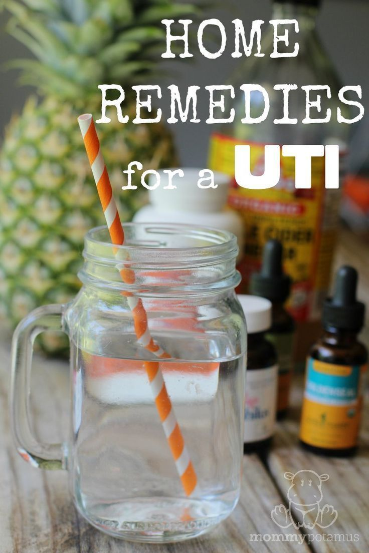 UTIs are so, so painful. Here's a list of effective natural home remedies for a UTI!