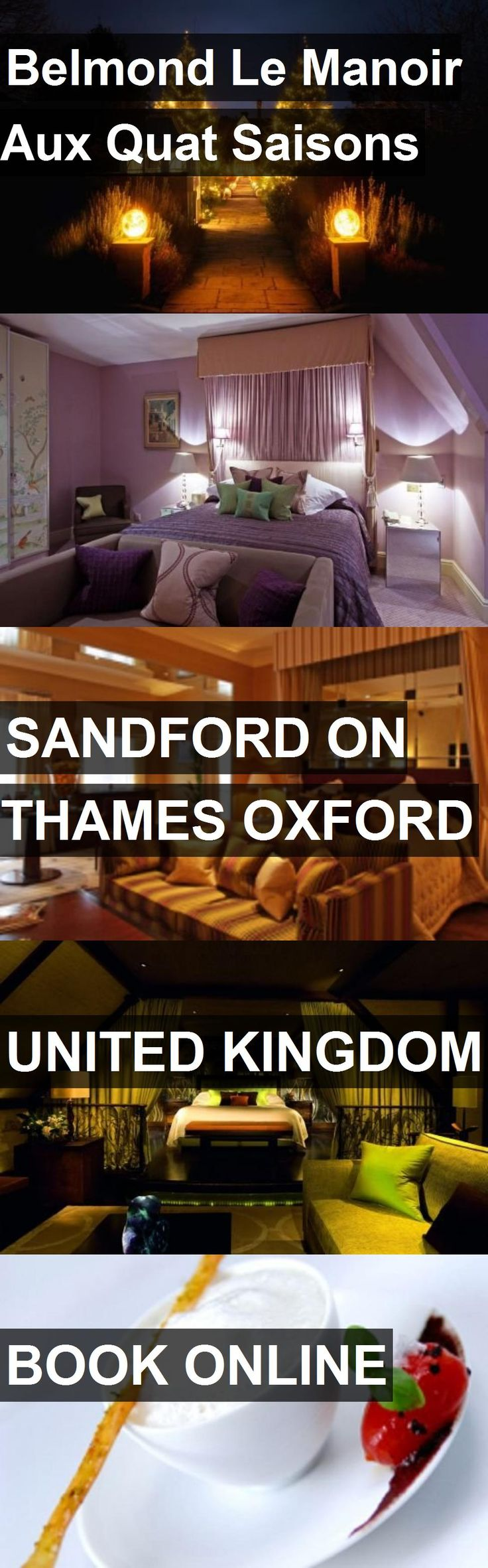 Hotel Belmond Le Manoir Aux Quat Saisons in Sandford on thames Oxford, United Kingdom. For more information, photos, reviews and best prices please follow the link. #UnitedKingdom #SandfordonthamesOxford #travel #vacation #hotel