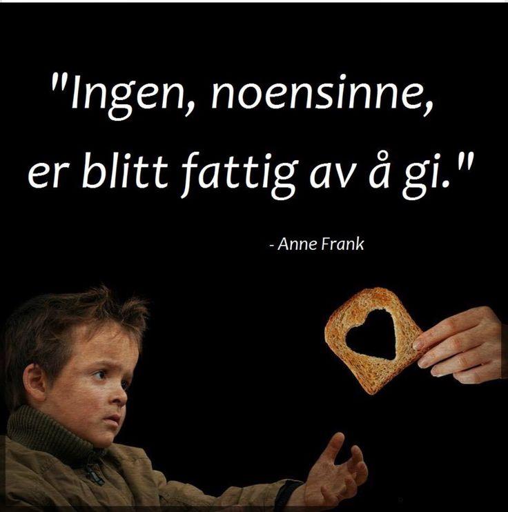Sitat av Anne Frank