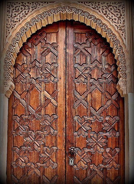 Wooden Door by papalars, via Flickr