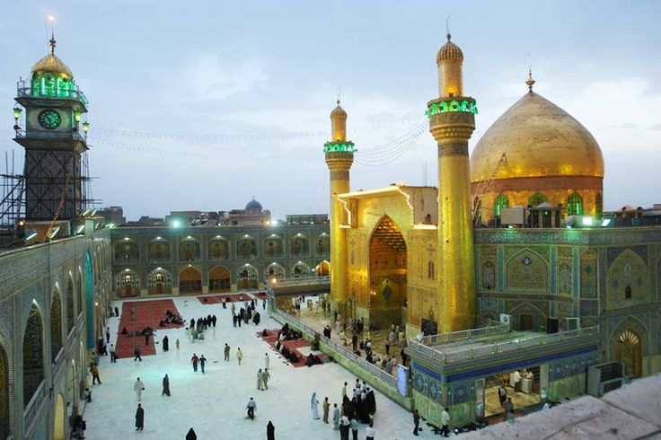 Maula Ali Shrine Wallpaper: Imam Ali Holy Shrine, Iraq