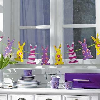easter garland (decoração pascoa)