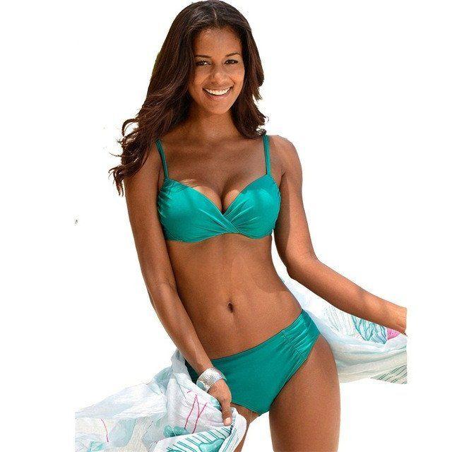 Rebecca High Waist Bikini Set