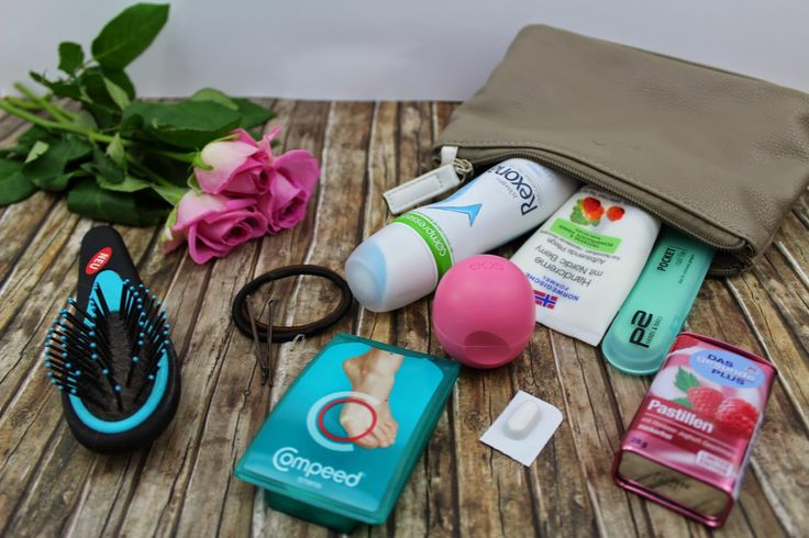 Handtasche, What's in my bag, beauty things