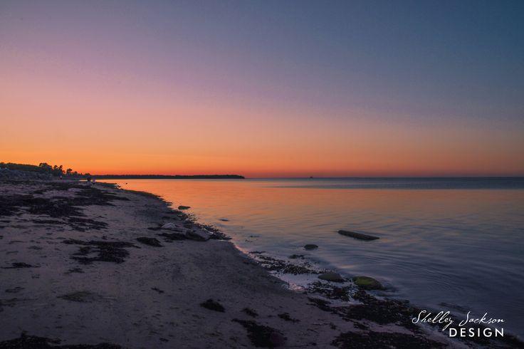 Sunset in Pictou, Nova Scotia