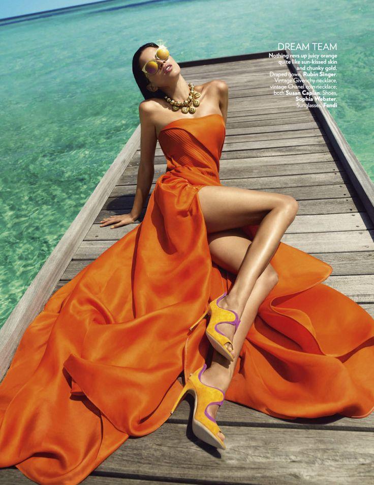 Vogue Índia Março 2016 - Raica Oliveira