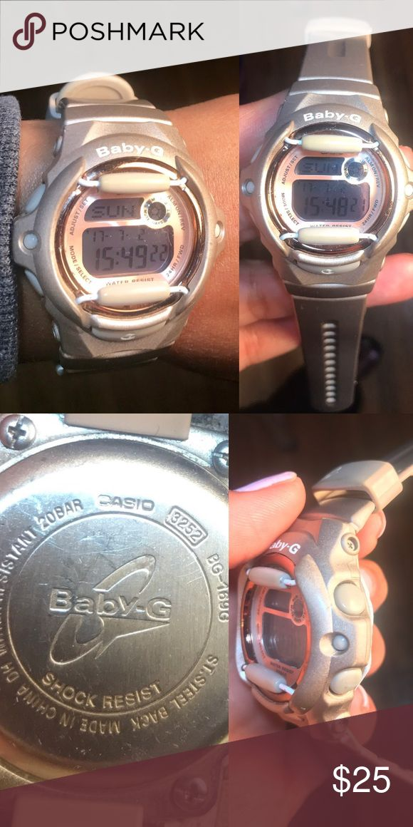 Baby G Shock Watch Baby G Shock watch in good working condition..water resistant shock resistant..I purchased it because I used military time at my job and it just made things easier ..great for nurses. You can switch it back to regular time. G shock Jewelry