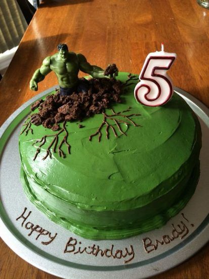 8 tartas fáciles de superhéroes