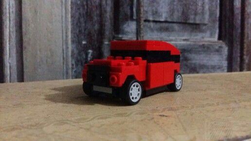 Jeep landcruiser lego