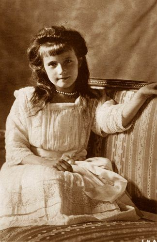 Anastasia Romanov. I loved reading about her and all the other members of the Romanov family.
