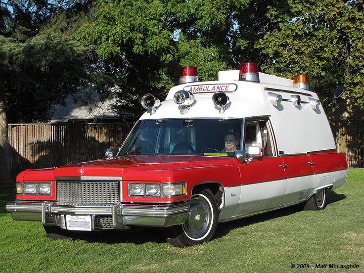 Cadillac early ambulances and hearses