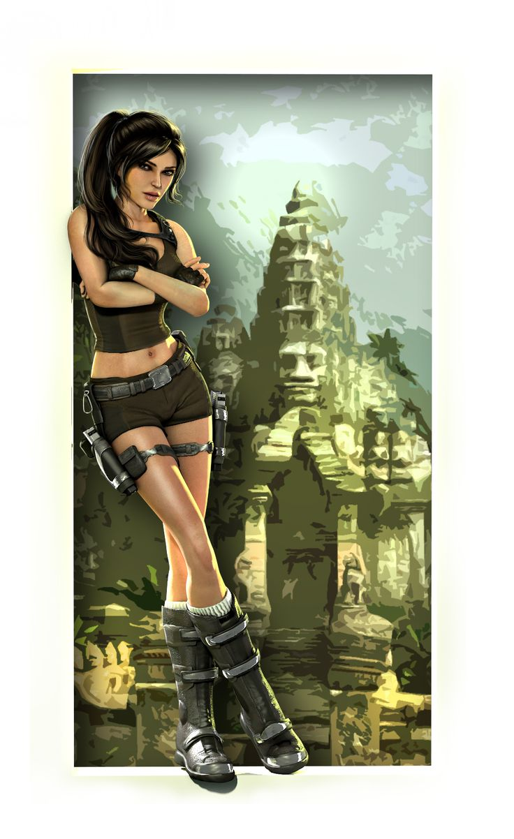 To the Thailand by LPVictoria  #tombraider #laracorft #adventure #games #videogames #xbox #ps #pc #juegos #videojuegos #consolas #videoconsolas #mujeres #aventura #arte #art #fanart #personajes #famosos #chicas #guerreras #pistolas #armas #arqueología #arqueóloga #aventurera #juegosaventura #ltombraider #croft #lara #tomb #raider