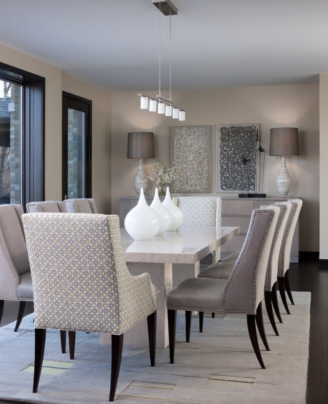 Love these dining room chairs!!!!