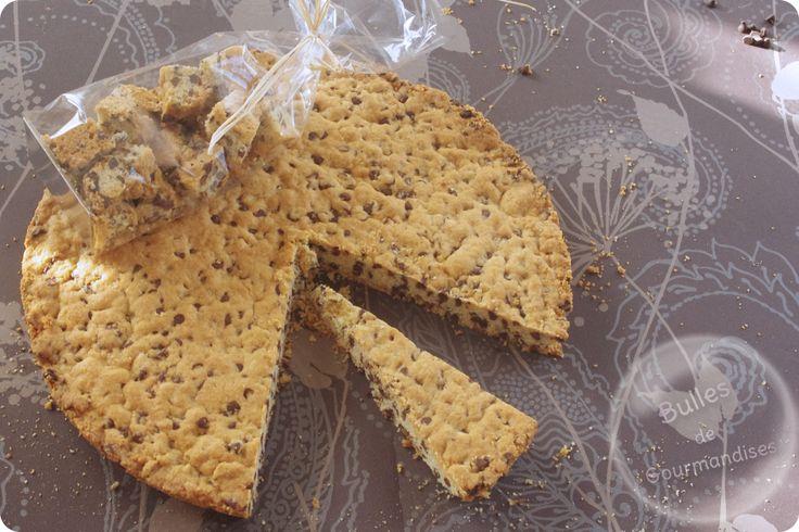 Giant cookie cake recipe ! / Gâteau cookie géant au chocolat ... pour maxi gourmand !!!
