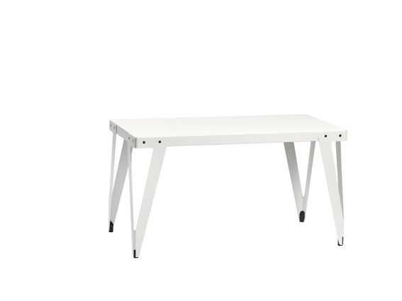 Functionals, Lloyd Worktable (140x70cm) Indoor white, Design: Serener http://functionals.eu/products/tables/lloyd_table