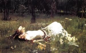 Ophelia 1889  John William Waterhouse
