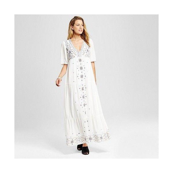 17  ideas about White V Neck Dress on Pinterest - Short white ...