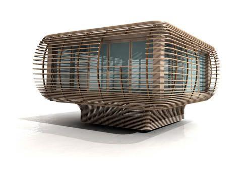 FINCUBE: moderna casa PREFABRICADA ecológica