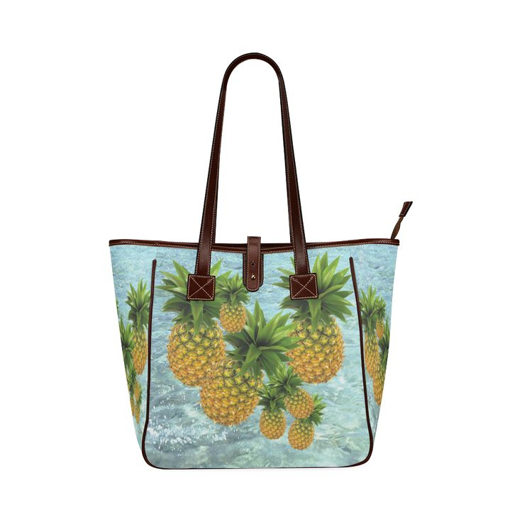 Pineapples Classic Tote Bag. FREE Shipping. #artsadd #bags #fruits