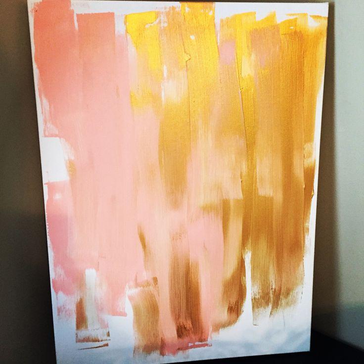 Wedding unity ceremony - canvas painting
